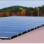 flat roof solar modules - krane solar